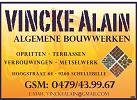 Vincke Alain Algemene bouwwerken